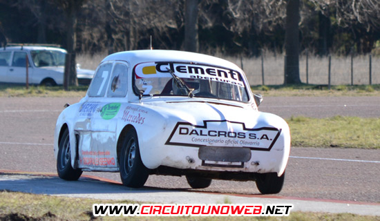 Diego Tartúferi fue quien corrió por última vez este Renault