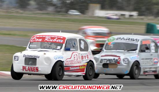 EL piloto de Olavarría realizó una muy buen carrera en el AMCO
