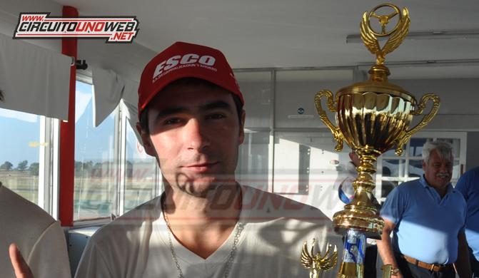 El piloto de Chillar junto a Nicolás Pezzucchi fueron los más rápidos