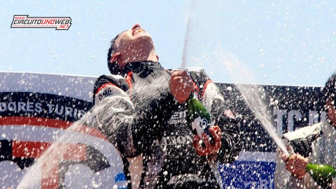 Lucas Ferreira ganó por primera vez (foto ACTC)