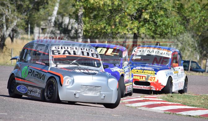 Fernando Currá es el líder del campeonato de Promocional