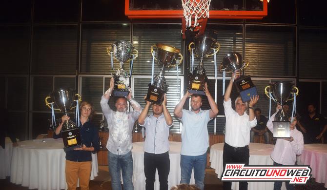 LOs seis campeones del 2018