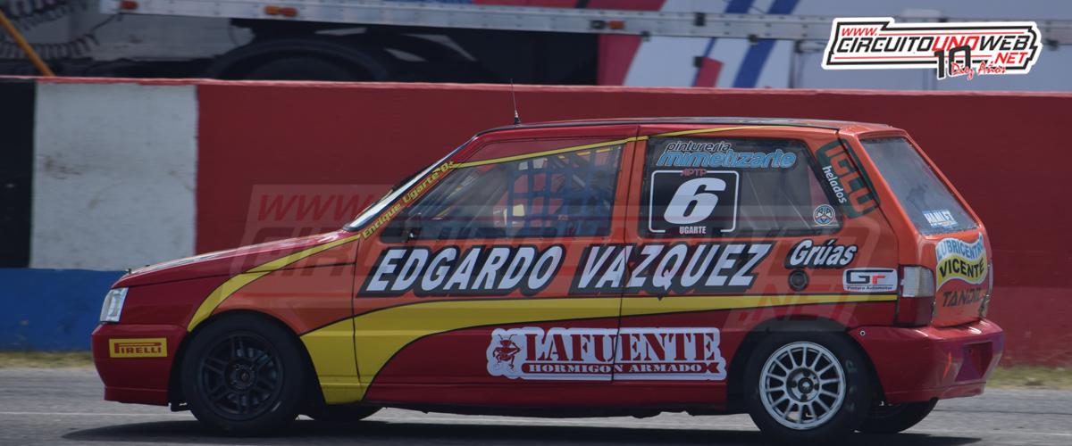 Enrique Ugarte se quedó con lo mejor en los entrenamientos de la clase 1