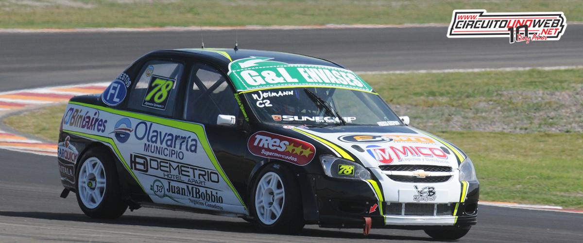 Alejandro Weimann ocupó el sexto lugar en la clasificación (foto APAT)