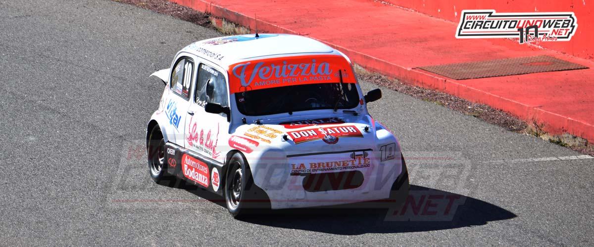 Benjamín Latorre quedó conforme con la carrera realizada en el AMCO