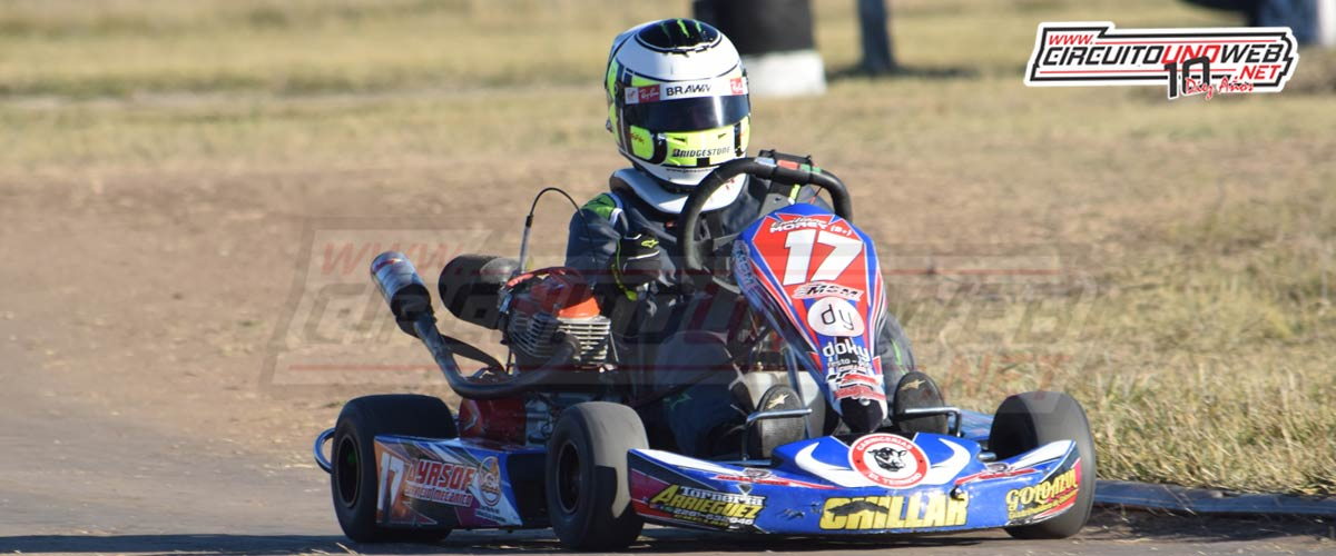 Emiliano Morey fue segundo en Olavarría