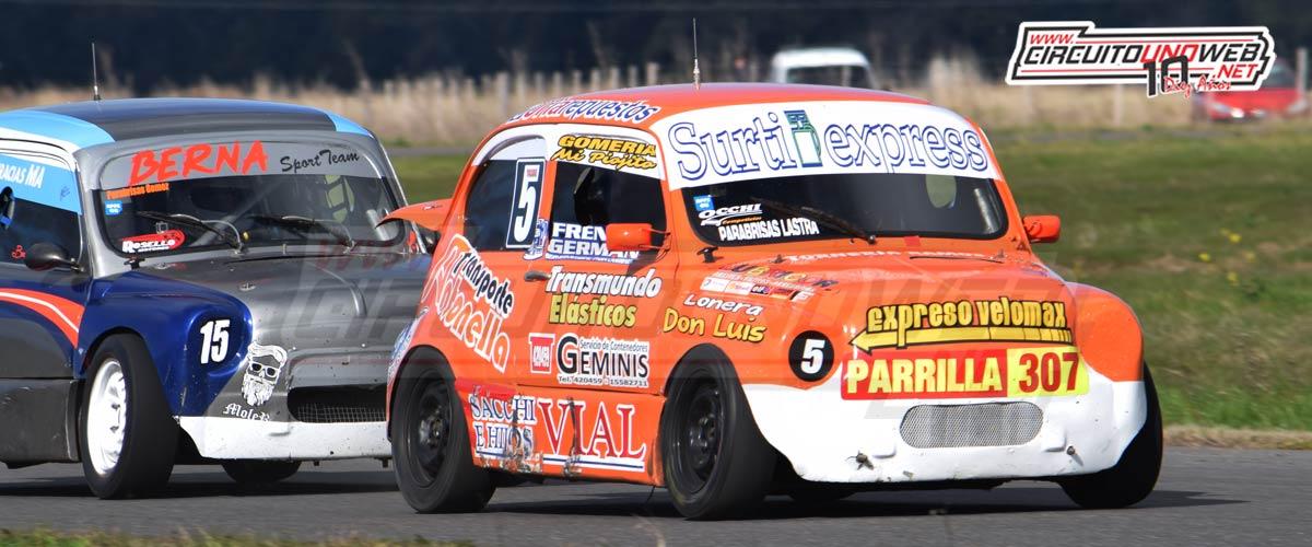 Carlos Macaluso terminó en el tercer puesto en Tres Arroyos