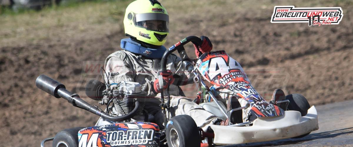 Adrián Torres se quedó con la pole en Máster 150