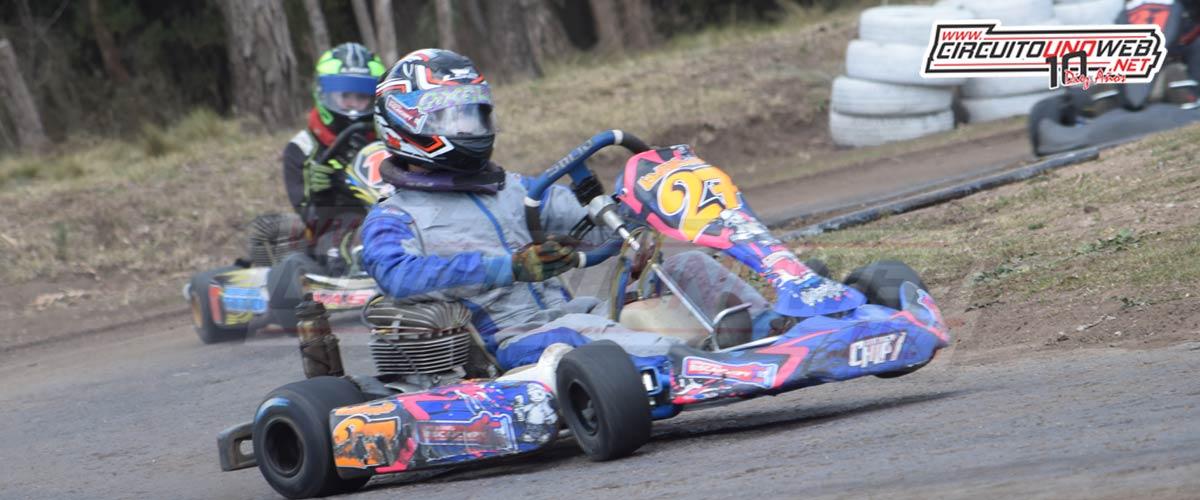 Axel Biscaichipy fue segundo en la apertura del playoff