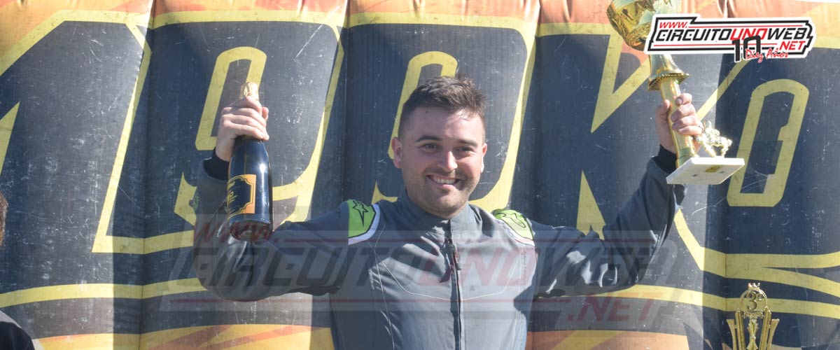 Emiliano Morey se quedó con el triunfo y se postula al título