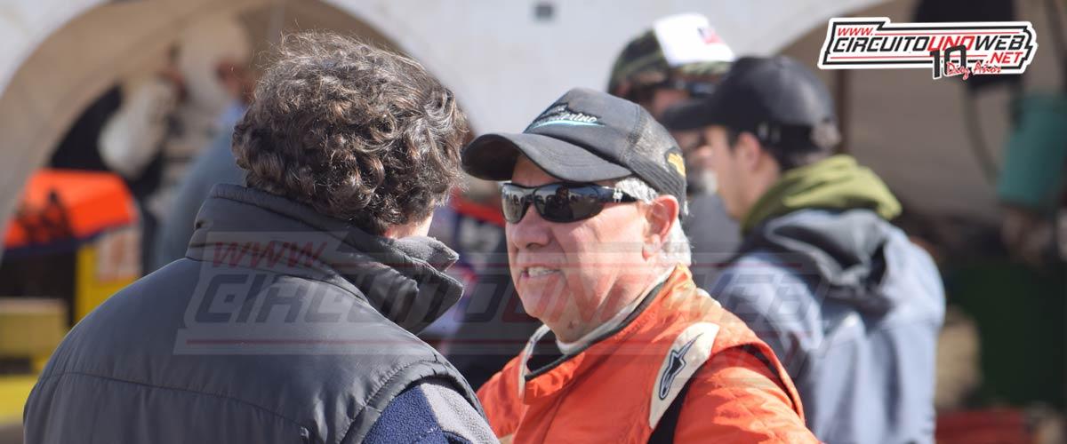 Juan Giancaterino está tercero en el campeonato