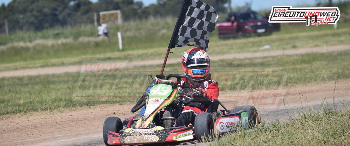 Luca Crudele ganó por primera vez en Junior 150