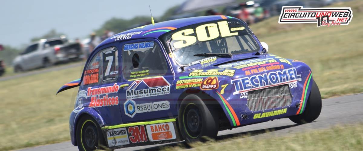 Diego Mangieri llegó tercero en Azul