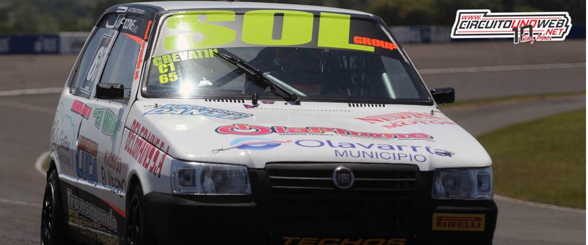 Daniel Crevatín fue cuarto en la serie (foto APTP)