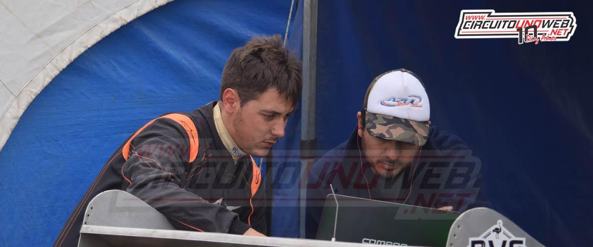 Miguel Arce construirá un nuevo auto para que Matías corra en la B