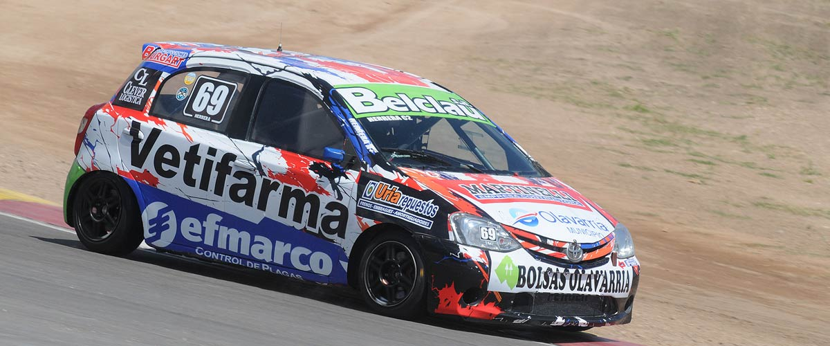 Agustín Herrera terminó segundo en su serie (foto Prensa APAT)