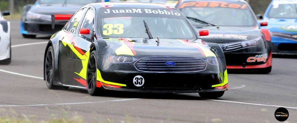 Fabrizio Girado quedó conforme con su debut en la categoría (foto Top Race)