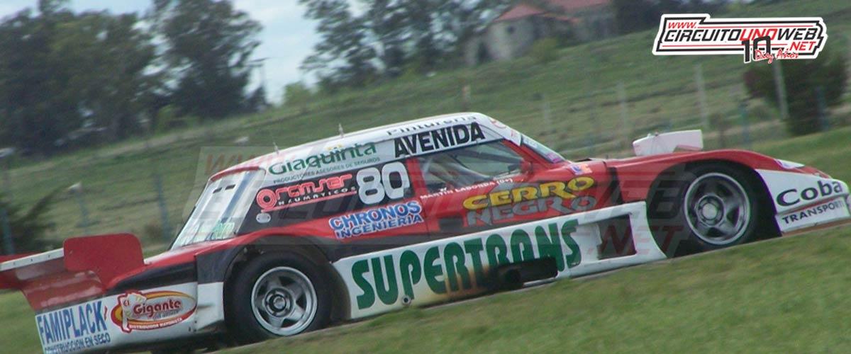 Martín Laborda terminó 2do y fue campeón ese año en el TCPM