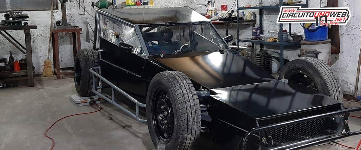 El nuevo auto de Lucas Kessler