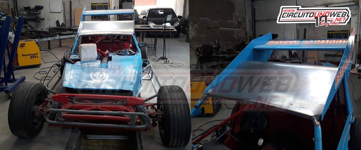 Sergio Riat realizó una serie de reformas en el auto de Primo Pavon