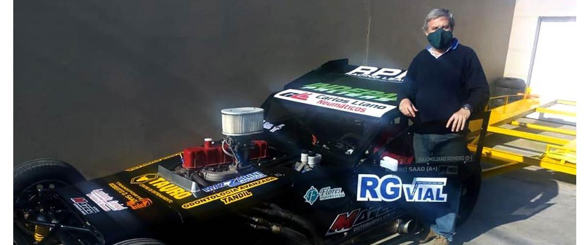 Javier Zabala competirá en la Clase A con este auto (foto Martín De Francesco)