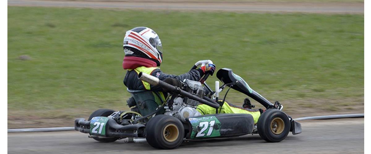 Se vivió un fin de semana intenso en el kartódromo de Olavarría (foto Javier Torres)