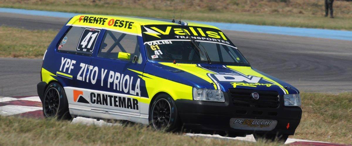 Diego Valisi confirmó la presencia en la reanudación del Turismo Pista (foto APTP)