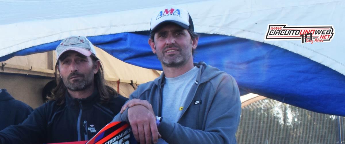 Ezequiel Vieytes corrió en la Copa Bora y fue tercero
