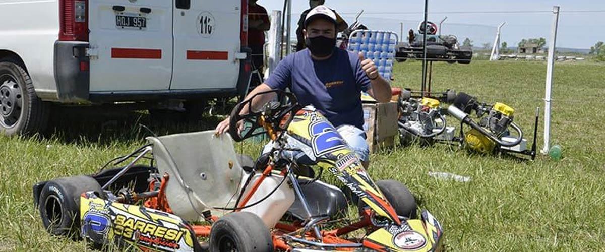 Joaquín Gonzalez fue uno de los pilotos presentes el día domingo (foto Javier Torres)