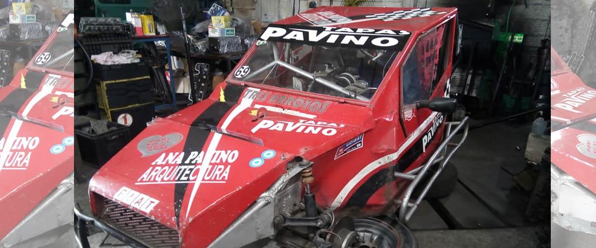 Tomas Berti confirmó que correrá con el auto que pertenecía a Alberto Pavino (foto Sergio Montoya)