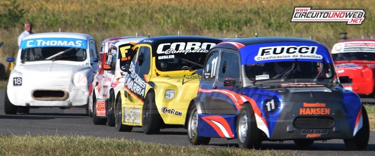 Bernardo Fucci marcha 5to en en campeonato de Promocional 1100