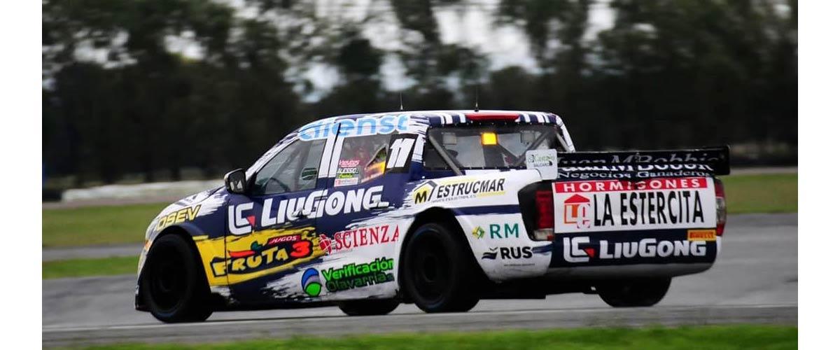 El piloto de Olavarría se ubicó en el 7mo lugar en la tercera fecha del año (foto Prensa Nicolás Pezzucchi)