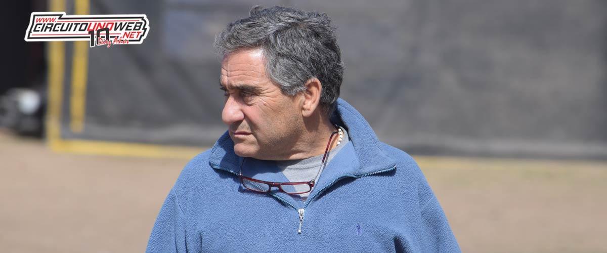 Lucio Cinalli, presidente de las Mayores
