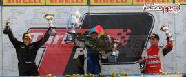 Crevatín Cerró el año con un podio