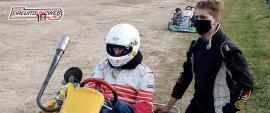 Pruebas de karting en el Moto Club Tres Arroyos