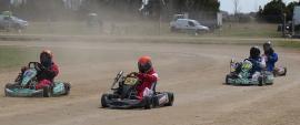 Tres días de pruebas en el kartódromo del AMCO