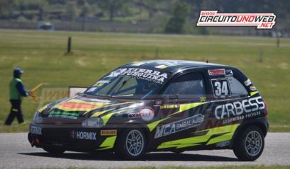 Garro triunfó en la 2, Giacomasso y Tambucci dentro de los 15