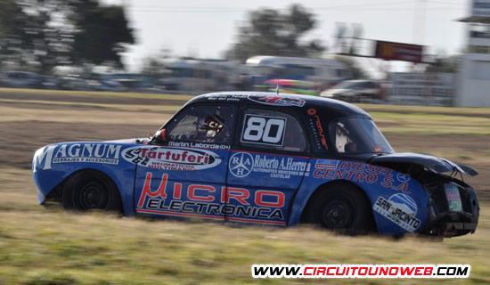 Martin Laborda sigue el frente del campeonato