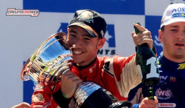 Diego Ciantini ganó en Concepción (foto ACTC)
