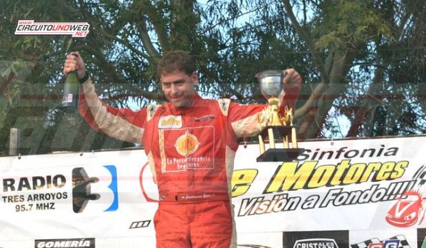 Guillermo Yané volvió a ganar en Tres Arroyos