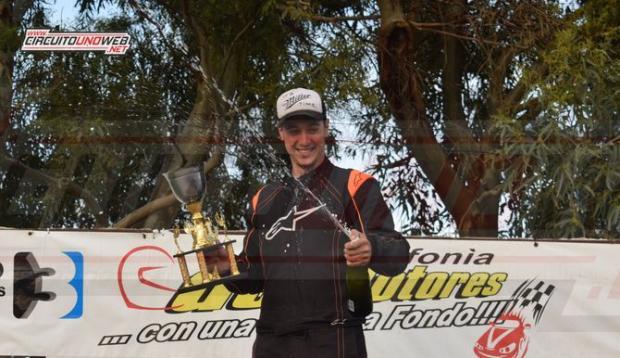 Matías volvió a ganar en Tres Arroyos, antes lo había hecho en Mar y Sierras B