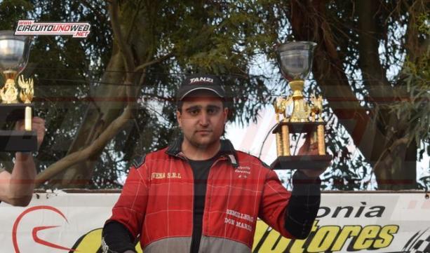 Valentin Caresano, ganó la segunda final y se acerca en el campeonato