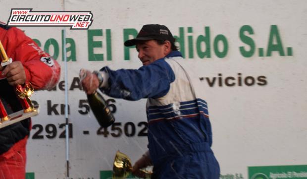 Rubén Guarino llega como líder del campeonato