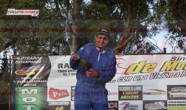 Valentín Caresano se convirtió en el nuevo campeón del TC del 40