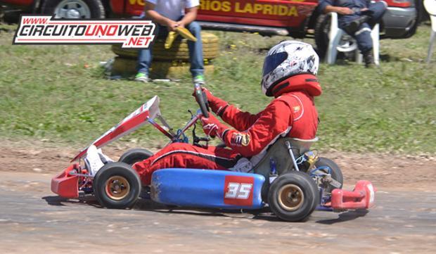 Nicolás Domínguez se consagró en la competencia pasaa