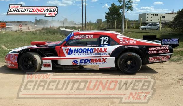 El Chevrolet con el cual correrá el piloto de Dorrego