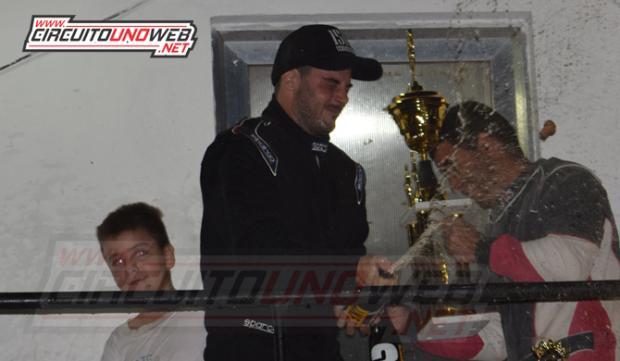 Federico Barreiro ganó y es escolta en el campeonato