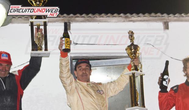 Raúl Alonso se quedó con los dos triunfo en Lobería