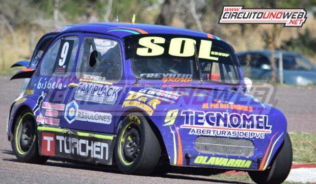 Diego Mangieri marcha segundo en el campeonato de Promocional