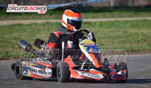 Eduardo Venancio el más veloz en Cajeros 150